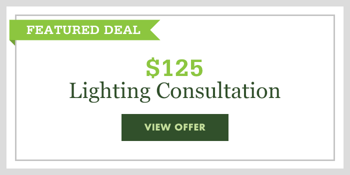 $125 Lighting Consultation - click to read offer